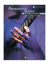Pentatonic Scales For Guitar Method Learn to Play TAB Music Book AUDIO DOWNLOAD