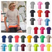 Fruit of the Loom HD Cotton Short Sleeve Plain Blank T-Shirt S-6XL - 3930R