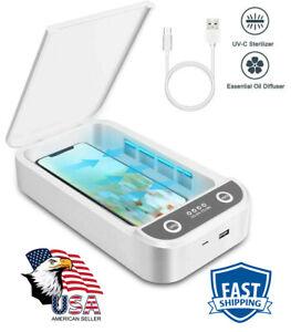 UV Ultraviolet Cell Phone Sterilizer-Sanitizer-Box-Disinfection Case Cleaner UVC