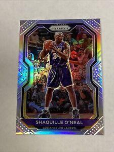 2020-21 NBA Panini Prizm Shaquille O'neal #207 Silver Prizm