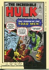 The Hulk Film And Comic Cards Famous Hulk Covers Chase Card FC02