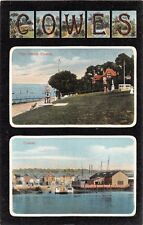Cowes Isle Of Wight Iow Uk~Large Letter Multi Image~Empire Series Postcard