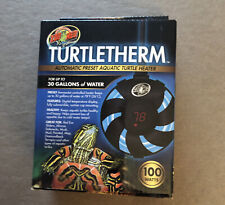 Zoo Med Turtletherm Automatic Preset Aquatic Turtle Heater 100 Watts 30 Gallons