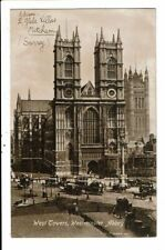 CPA-Carte Postale - Royaume Uni-London Westminster Abbey-West Tower -1913?- VM11