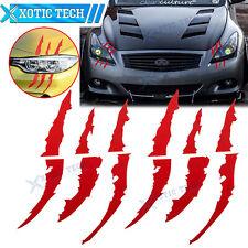 2X Car Vinyl Decal Eye Catching Sticker Headlight Decor For Infiniti G35 G37 Q50