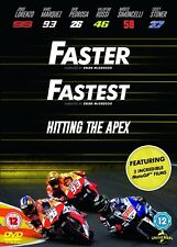 FASTER (2003), FASTEST (2011) + HITTING THE APEX (2015):  DVD -  MotoGP - NEW UK