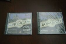 Learn French Now Transparent Language Cd Plus Bonus Grammar Pc Mac New Sealed