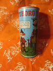 Tuborg Comic Can Straight Steel Pull Tab Beer Can Denmark