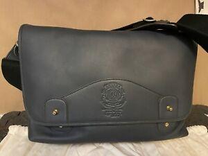 Ghurka Messenger Bag - No. 257 - Indigo Blue Leather - NWT