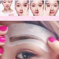 24x Pochoir à Sourcils Forme Modèle Maguillage Stencil Makeup Dessin cartes