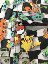 Pokemon Pikachu Backpack NEW School Padded Adjustable Shoulder Straps Nintendo