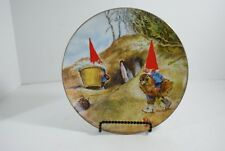 Rien Poortvliet Gnome Know How Legends of the Gnomes Porcelain Collector Plate