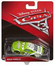 DISNEY PIXAR CARS 3 Brick Yardley 1:55 Veicolo in Metallo - Mattel DXV53