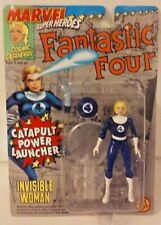 1995 ToyBiz Marvel Super Heroes Fantastic Four Invisible Woman New MOSC