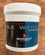 Barwalt 12370 Regular Tile Wedges 450 Pieces Per Jar