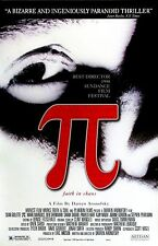 """Pi movie poster  : 11"""" x 17"""" inches : Darren Aronofsky"""