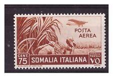 SOMALIA  1936 -  POSTA AEREA  CENTESIMI  75 NUOVO *
