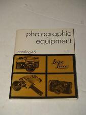 1972 Leitz Leica Photographic Equipment Catalog 45