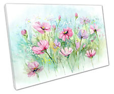 DAISY FLOWERS CANVAS WALL ART PICTURE LARGE 75 X 50 CM
