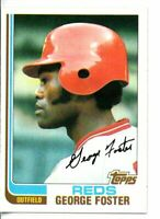 1982 TOPPS GEORGE FOSTER (NM/MT OR BETTER)*