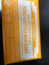 Dr. Bronner's Pure-Castile Bar Soap Citrus Hemp 5oz.