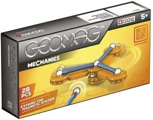 Geomag Mechanics Building & Construction Toys Set 28 Pieces Swiss Made