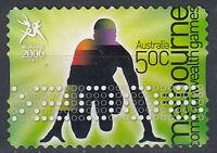Australien Briefmarke gestempelt 50c Melbourne Commonwealth Games 2006 / 121