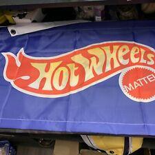 hot wheels mattel flag