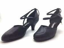 Chaussure de danse de salon pour femme:diamant couleur:noir taille: 34,5