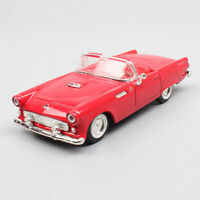 1:43 Scale classic 1955 Ford Thunderbird roadster diecast vehicles model Car toy