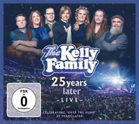 The Kelly Family - 25 Years Later - Live (Deluxe Edition) 2CD+ 2DVD NEU