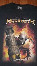 Thrash Heavy Metal Band ARSENAL of MEGADETH T-Shirt L mens womens Concert Group
