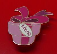 Used Disney Enamel Pin Badge Minnie Mouse Character 2015 Presents Design LE2750