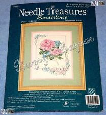 Needle Treasures Princess Roses Counted Cross Stitch Picture Kit