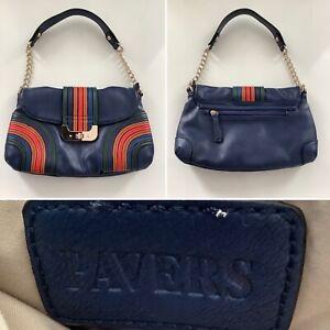 Preloved - Pavers Navy Mix Shoulder Bag