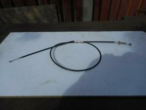 """Ariel Clutch Cable 6463-56E GB Gearbox Models 1956/1958 +4"""" With Adjuster UKMade"""
