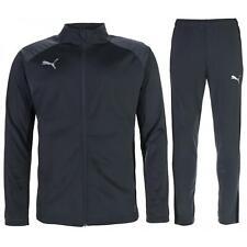 Puma Mens Tracksuit Track Pants Top Zip Up Jacket Grey 655580 01 L