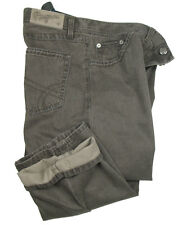 BOGNER Jeans vega-g1 in 38/34 (106) Marrone aus strukturbaumwolle