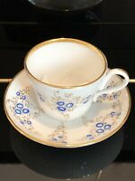 Rare Beautiful Vintage bone china tea cup and saucer.