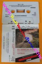 MC PLACIDO DOMINGO An american hymn yesterday 1981 holland CBS no cd lp dvd vhs