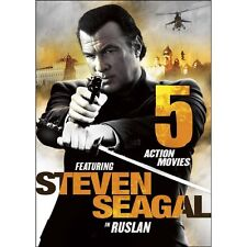NEW 5 Action Movies Featuring Steven Seagal in Ruslan (DVD)