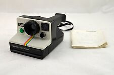 RARE Vintage Polaroid 1000 Land Camera W/ Neck Strap And Instruction Manual