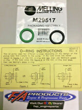Melling M29517 Oil Pump Pickup Tube O-Ring Set Of 2 For Chevy LS V8 Engines