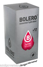 Bolero Drinks - Lychee (Litschi) Instant Drink - 12 Beutel für 18 Liter