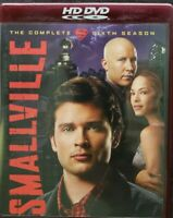 Smallville - The Complete Sixth Season (HD-DVD, 2007, 5-Disc Set) Complete VGC