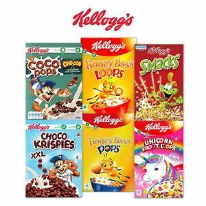 Kellogg's Coco Pops Chocos/Jumbos/Kelloggs Froot Loops/Honey Pops/Loops/Smacks