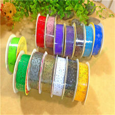 New Lace Roll DIY Washi Paper Decorative Sticky Paper Self Adhesive Masking Tape