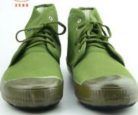 Men Chinese Army Tactical Shoes Boots Training Green Military Wear-resistant