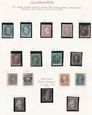 More details for united states. 1861 -1863 issues on album page. mainly used.