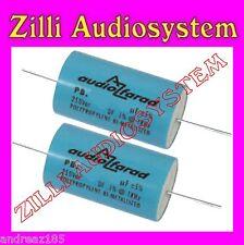 AZ AUDIOCOMP coppia condensatori PB 2D7 POLIPROPILENE Serie SONUS DA 2,7 uF New